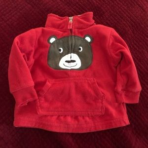 Carter's 6m Half Zip-Up Fleece Sweater